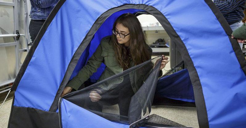 tenda per homeless