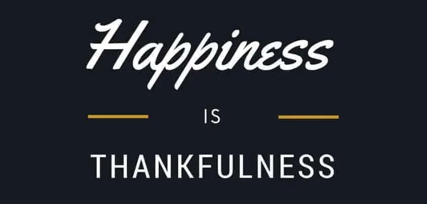 felicità gratitudine video