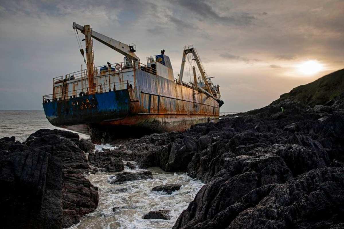 nave fantasma irlanda
