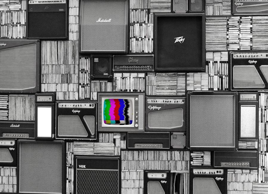 tv colori bianco nero