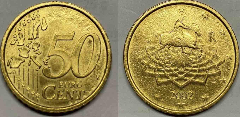 moneta 50 centesimi