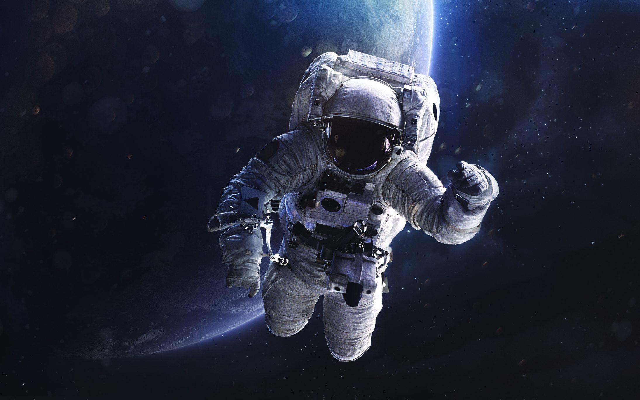 astronauta masturbazione